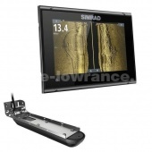 Эхолот-картплоттер Simrad GO 9 XSE ROW ACTIVE IMAGING 3-IN-1